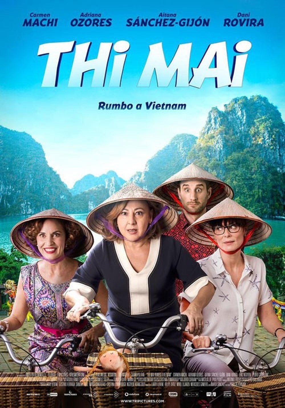 Poster phim Thi Mai, rumbo a Vietnam. Ảnh: tripictures.com
